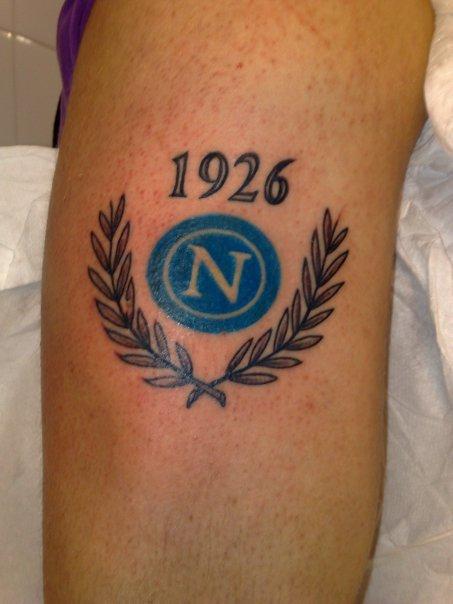 Tutti I Tatuaggi Del Napoli Tatuaggio Ultras Tatoo Scudetto Picture