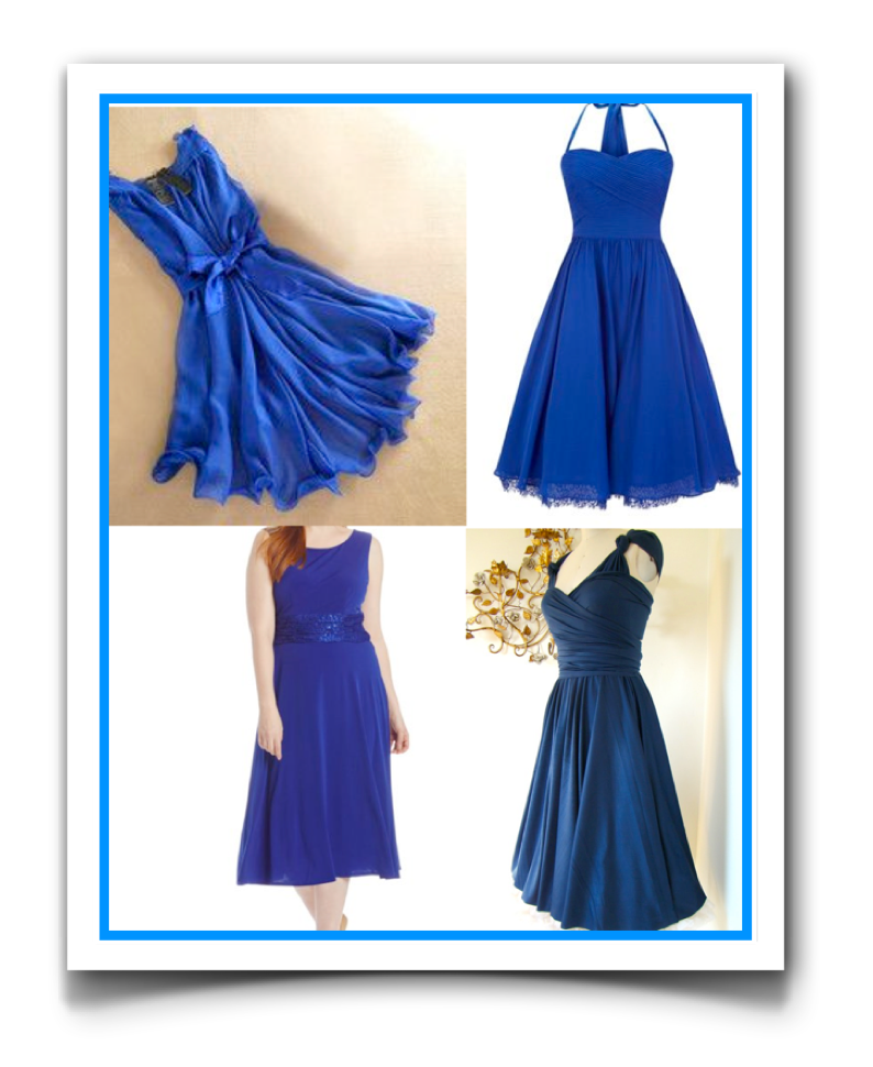 Need That Perfect Tardis Blue Dress For Your Engagement Dinner Or Maybe Some Bridesmaids