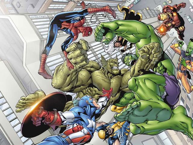 Avenger_Cartoon#1 Free Wallpaper