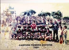 Campeón Deptal. 1985