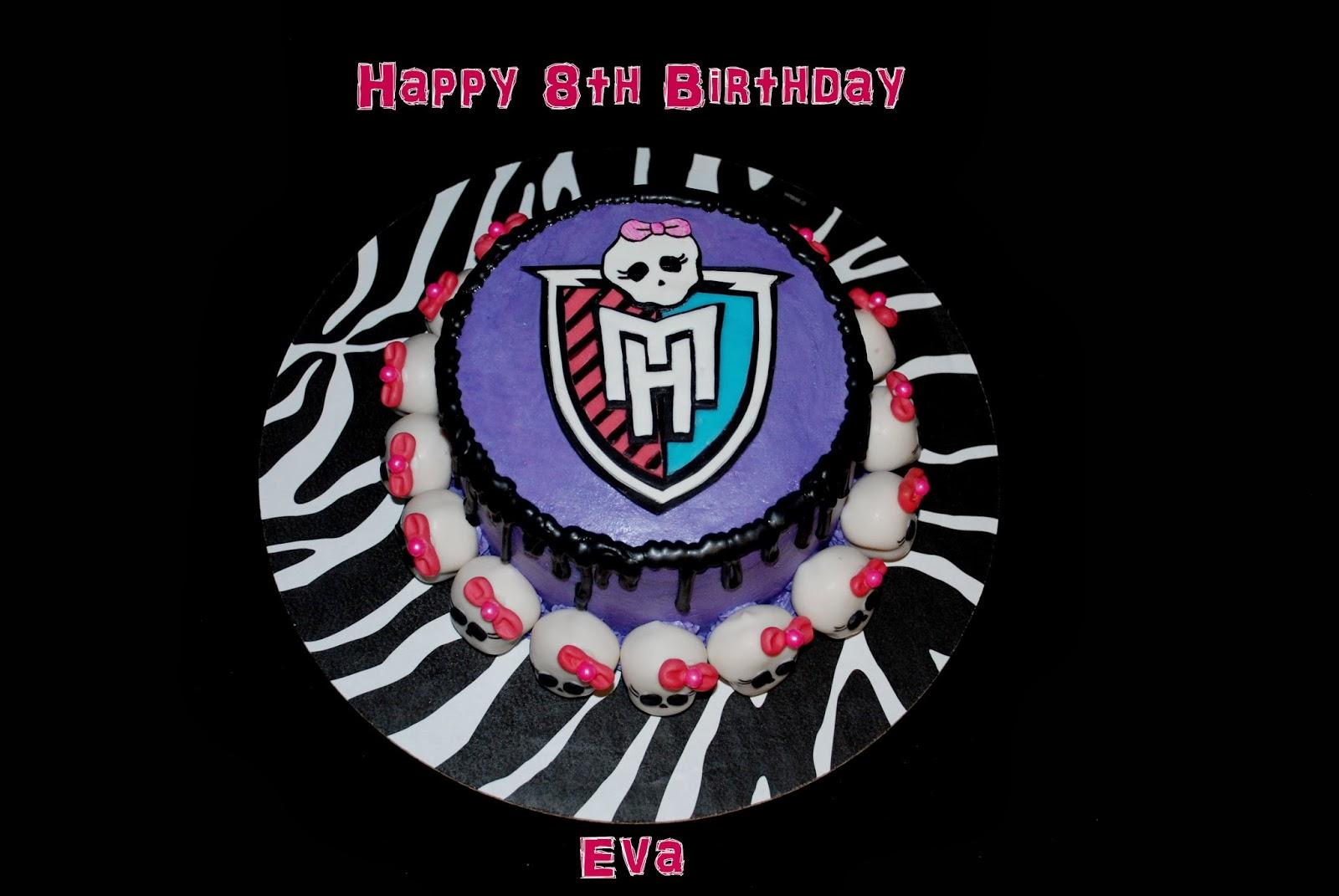 Zoeys delights monster high cake pops monster high cake monster high cake pops monster high cake biocorpaavc