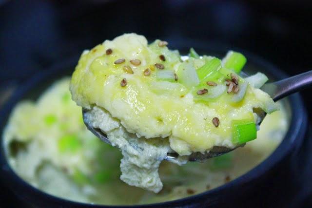 Korean Steamed Egg Gyeranjjim Is A Popular Korean Side Dish Made Of Eggs