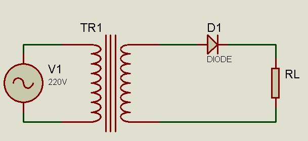 Circuito Rectificador De Media Onda : Circuito rectificador de media onda electrÓnica industrial