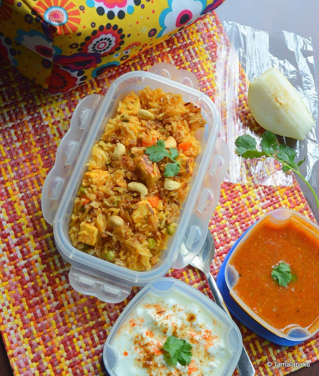 Paneer-Vegetable Pulao