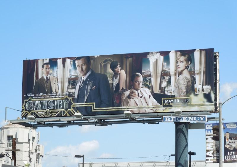 Great Gatsby remake billboard