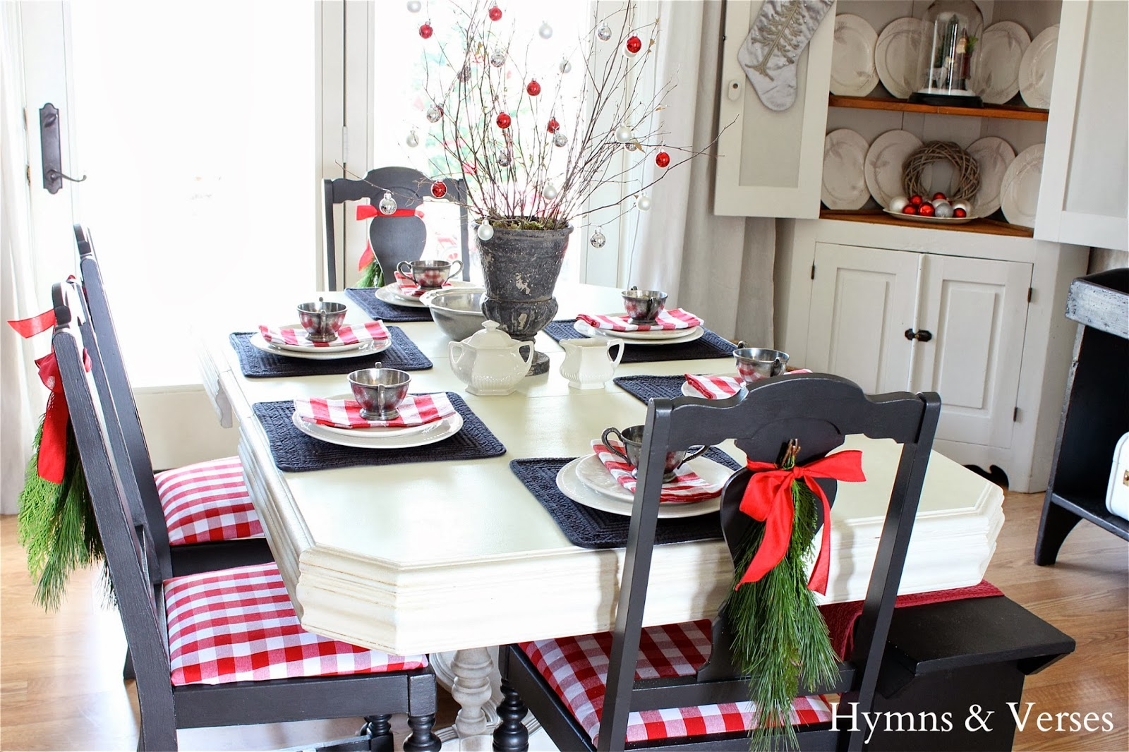 2013 christmas home tour - hymns and verses