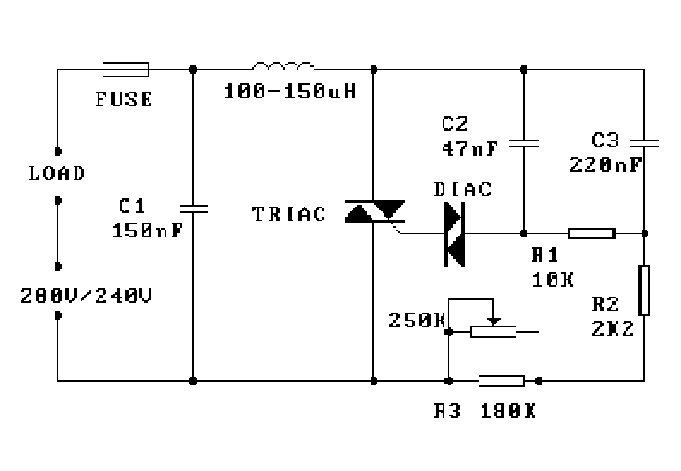 ac motor speed control using triac pdf