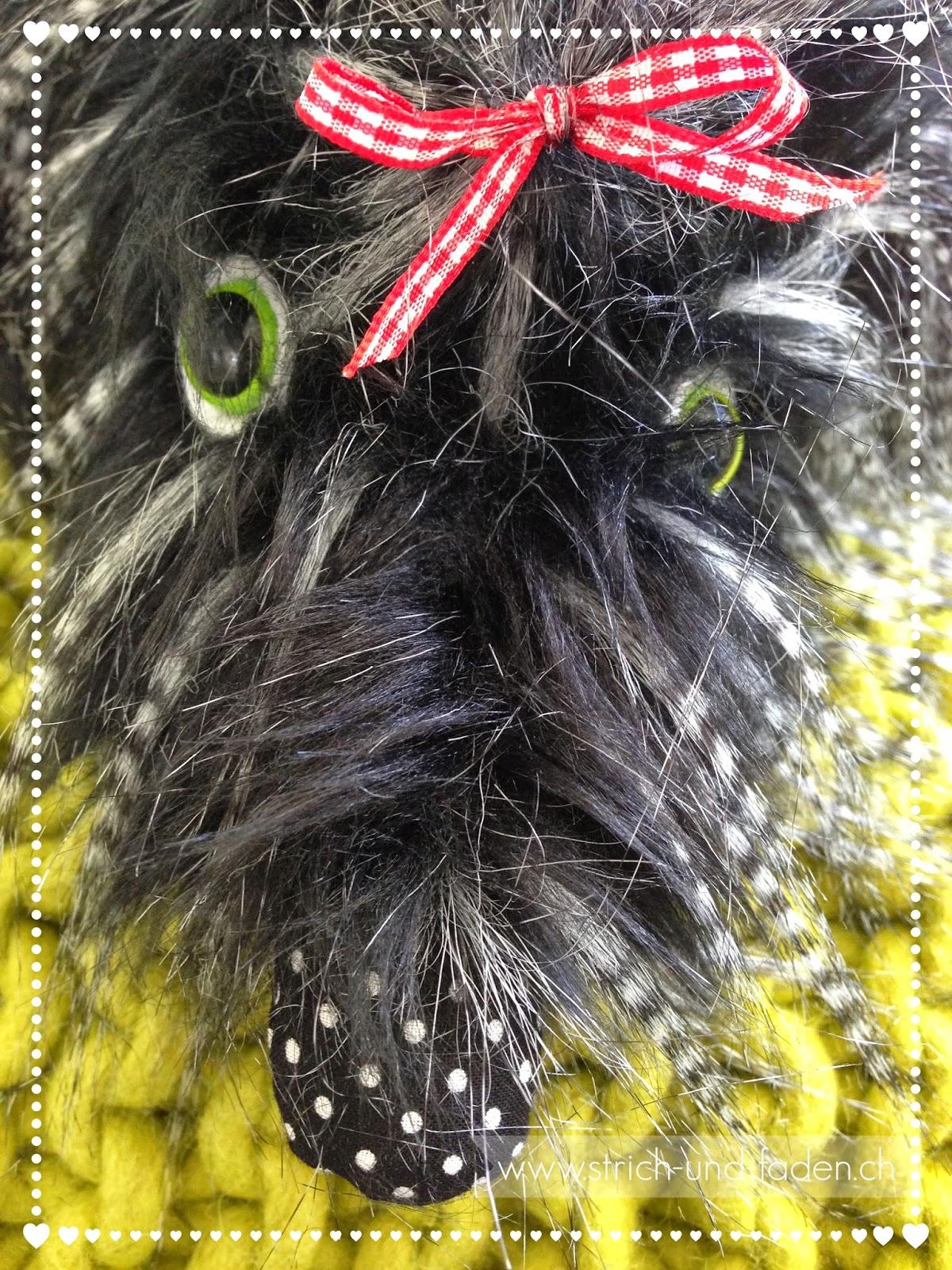 Strich und Faden | Hund Wilma selbstgenäht