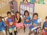 alunos do estágio de Pedagogia
