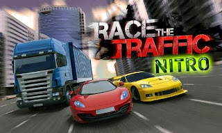 Screenshots of the Race the traffic nitro for Android tablet, phone.