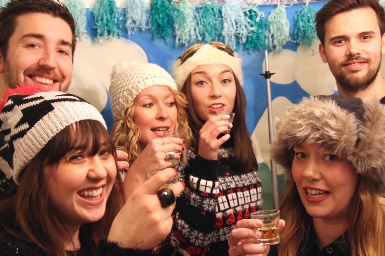 après ski party Photo Booth