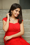 Priyadarshini Glam Pics in Red at Dillunnodu audio-thumbnail-18