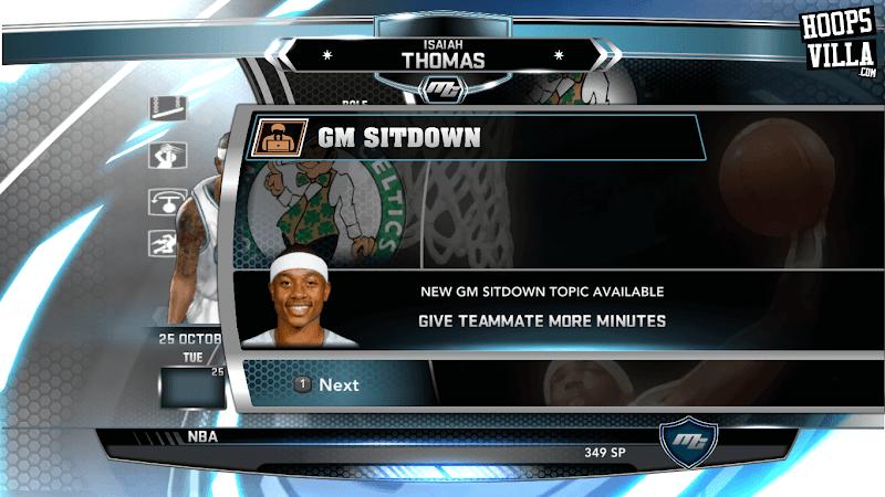 NBA 2k14 MyCareer Mod : Isaiah Thomas - hoopsvilla