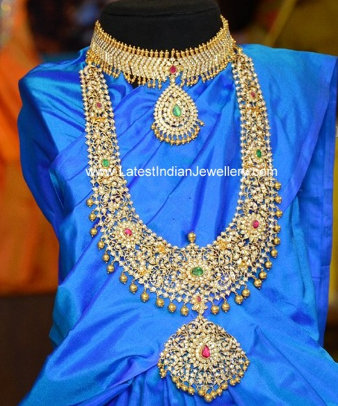 Indian traditional diamond jewellery