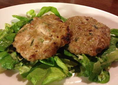 spring onion burgers