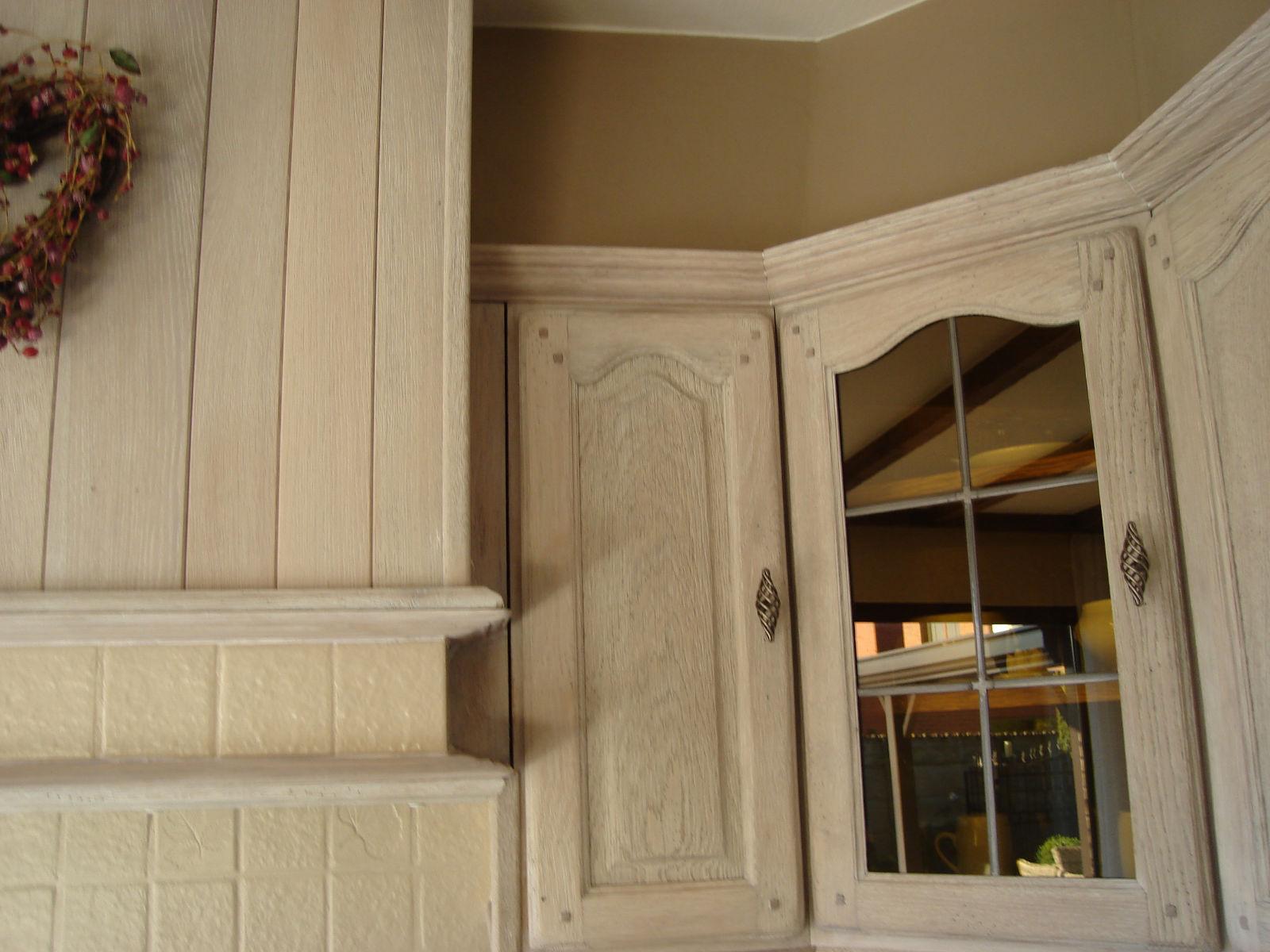 Eiken Keuken Zandstralen : : Renovatie, zandstralen, beitsen, vernissen van keukens