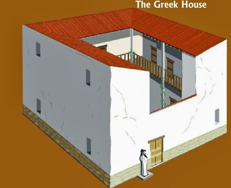Τα σπίτια στην αρχαία Αθήνα