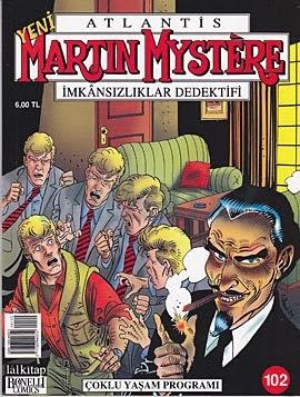 martin mystere aylık seriden bir kapak