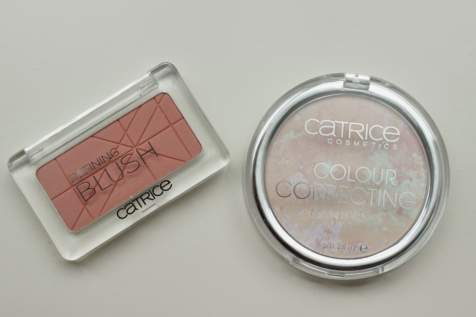 review catrice defining blush mandy-rine, review catrice colour correcting mattifying powder