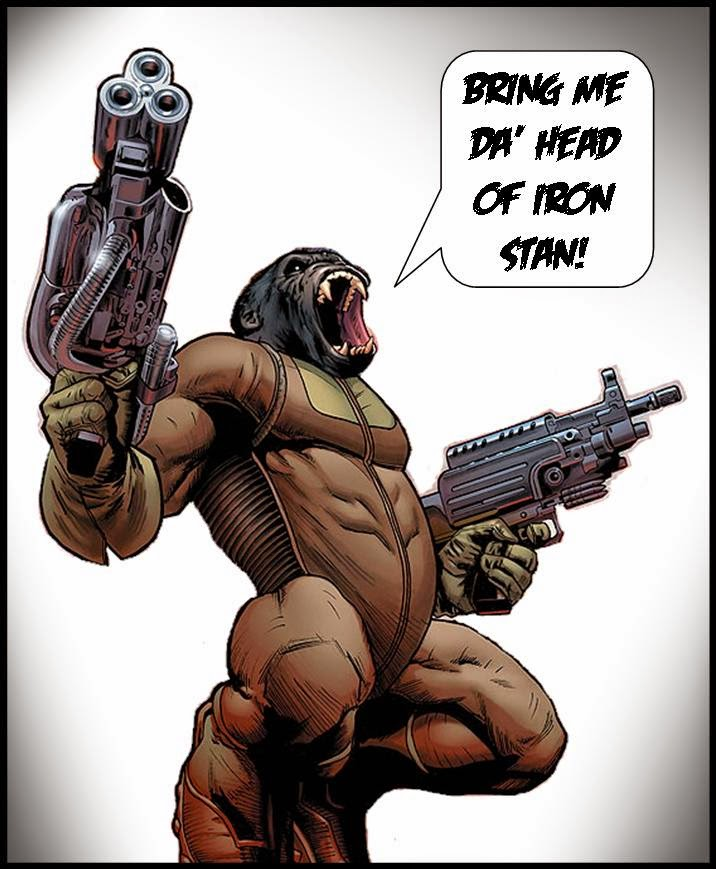 judge dredd ape gang