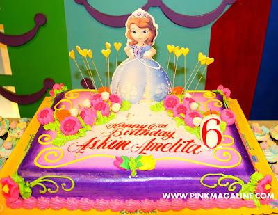 Sofia The First Cake Design Goldilocks Bjaydev for