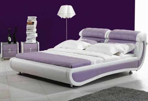 Ultra modern bed designs an interior design for Chambre a coucher design