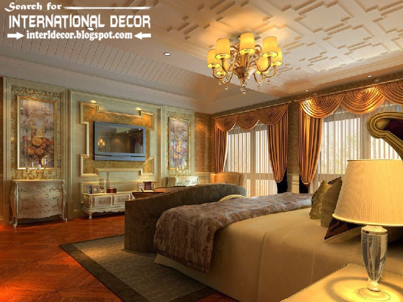 luxury bedroom decorating ideas designs furniture 2015, bedroom ceiling molding