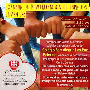 JORNADAS DE REVITALIZACIÓN DE ESPACIOS JUVENILES