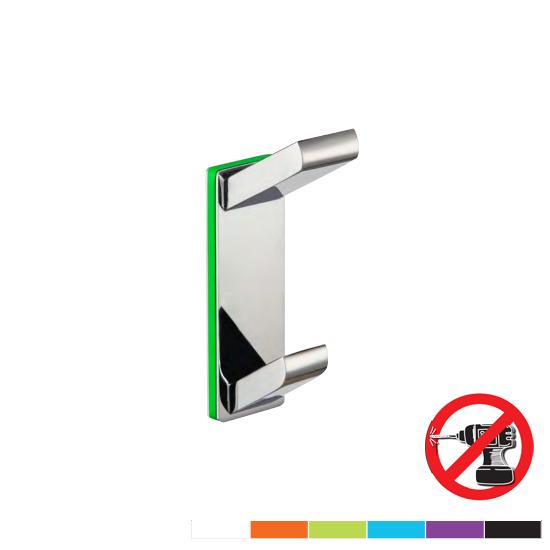 Accesorios ba o verde pistacho for Accesorios bano sin tornillos