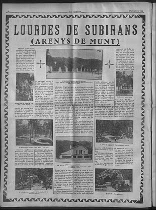 Santuari de Lourdes de Subirans (Arenys de Munt)