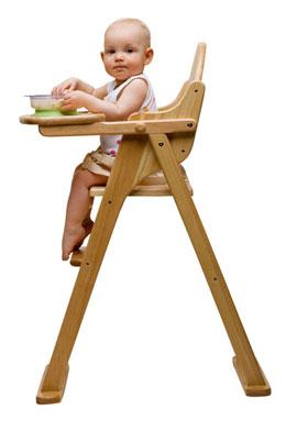 Cosas que necesitar s para tu beb dralive for Silla de bebe de madera