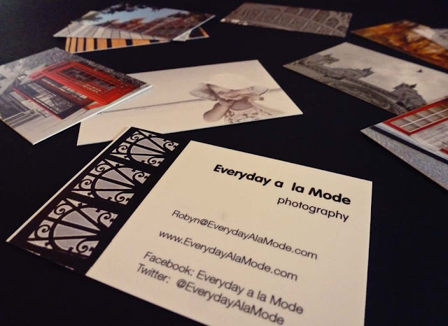 Everyday a la Mode_Blogging_Business Cards
