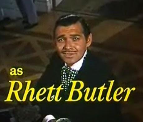 Rhett Butler E o Vento Levou
