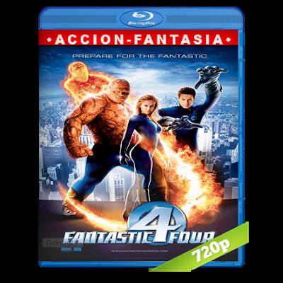 Los 4 Fantasticos (2005) BRRip 720p Audio Trial Latino-Castellano-Ingles 5.1