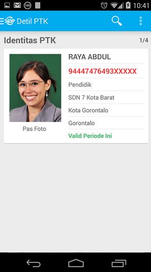 Cara Mudah Mengetahui Status PTK Dengan Aplikasi Android 3