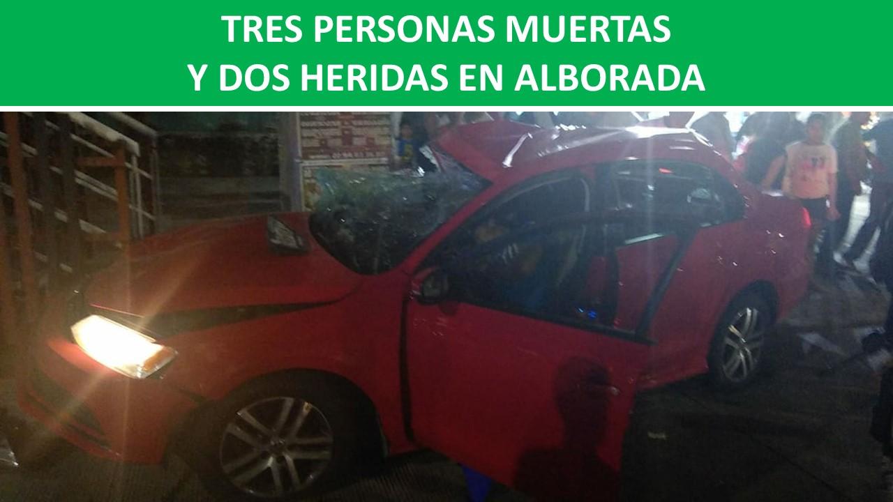 DOS HERIDAS EN ALBORADA