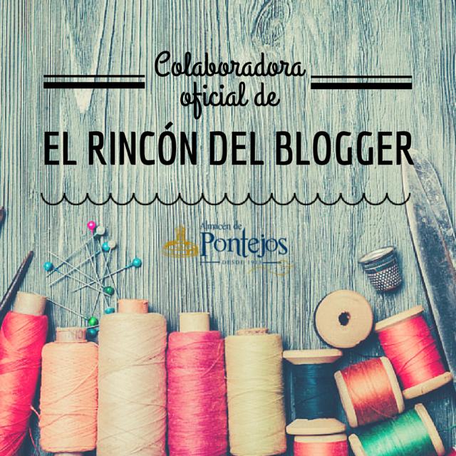 Colaboro con Almacenes Pontejos en El Rincón del Blogger