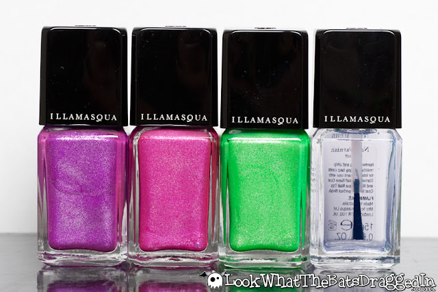 Illamasqua Paranormal Seance Ouija Omen Geist nail polish collection swatch