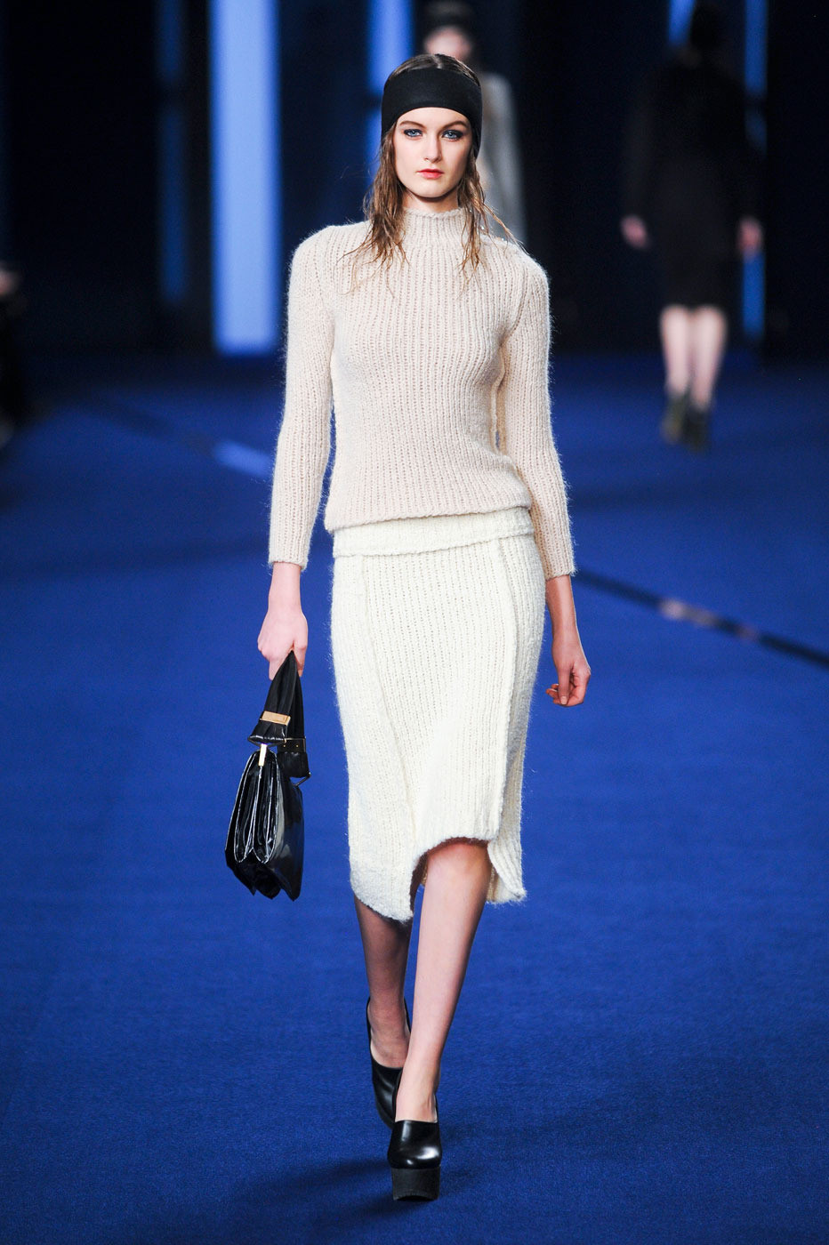 Sonia Rykiel Fall/Winter 2012 campaign / DIY idea for ribbed knit pencil skirt inspired by Sonia Rykiel FW 2012 collection via fashioned by love / british fashion blog