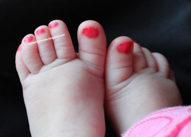 baby pedicure