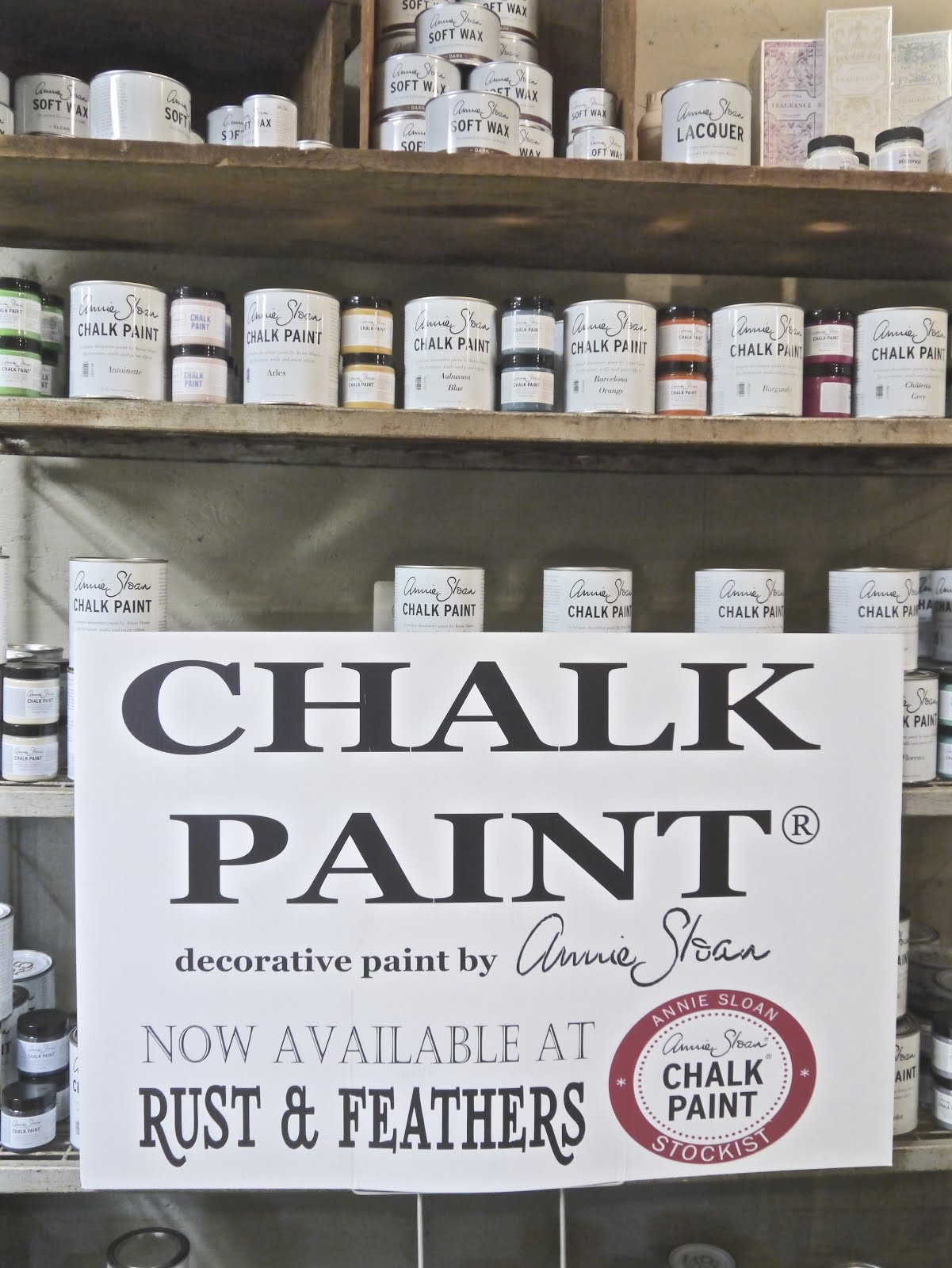 Annie Sloan Paints Sold Here