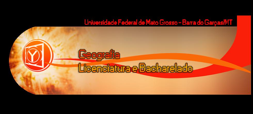 Geografia UFMT- Barra do Garças