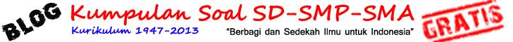 Kumpulan Contoh Bank Soal Bahasa Indonesia SD-SMP-SMA Terbaru