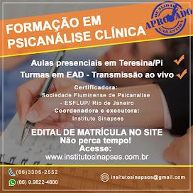 FORMAÇÃO EM PSICANALISE CLINICA