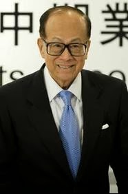 images of Li Ka Shing