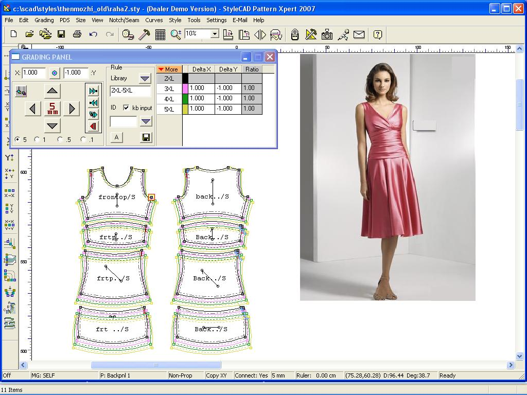 Clothing Design Software Cad Drafting your patterns can