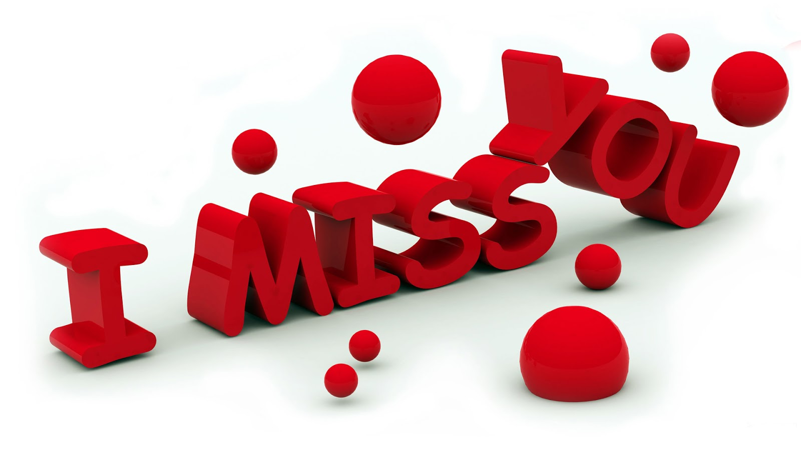 I Miss You Red HD Images
