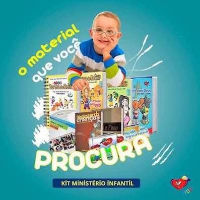 PRECISA DE AJUDA NO SEU MINISTÉRIO INFANTIL
