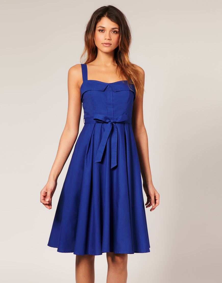 Summer Dresses Collection: Blue Summer Dresses
