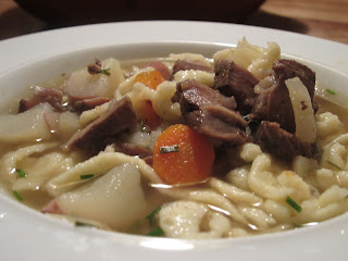 Swabian Beef Spaetzle +1 Soup {Gaisburger Marsch}|copyright galactopdx 2013